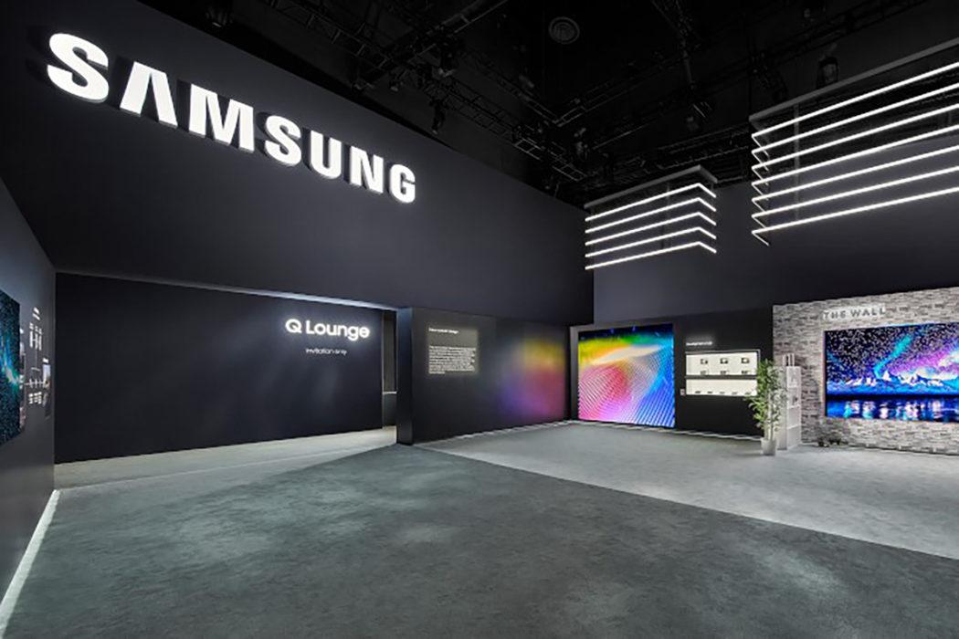 MC2 | Samsung CES | Trade Show | Event | Exhibit Photo.