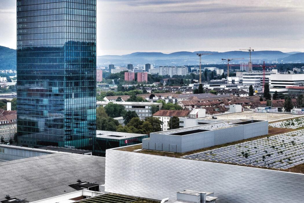 MCH Group | Luftaufnahme | Messegelaende | Messeturm.
