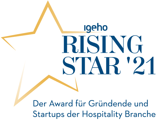 MCH Group | Igeho21 Rising Star Award | Logo Deutsch