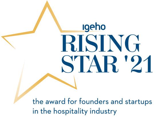 MCH Group | Igeho21 | Rising Star Award | Logo Englisch