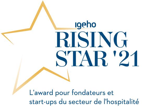 MCH Group | Igeho21 | Rising Star Award | Logo Französisch